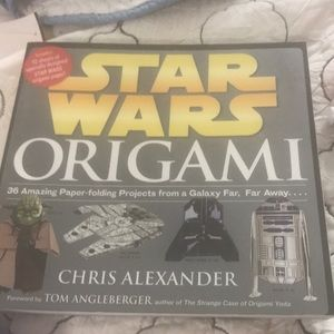 New Star Wars Origami 36 pages of projects!